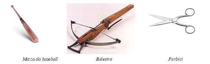 Armi proprie e improprie