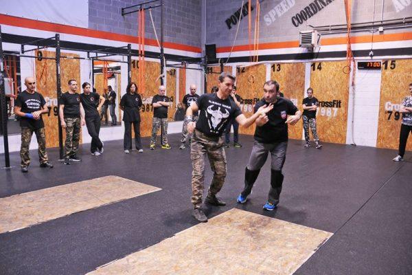 Stage Krav Maga Ferrara 2018 dimostrazione tecniche di combattimento