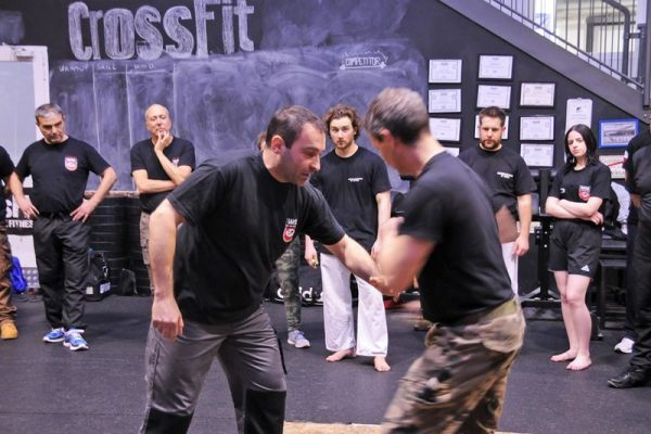 Stage Krav Maga Ferrara 2018 spiegazione tecniche di combattimento