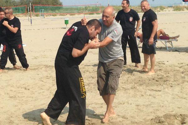 Stage Krav Maga Lido Estensi 2017 dimostrazione tecniche di combattimento