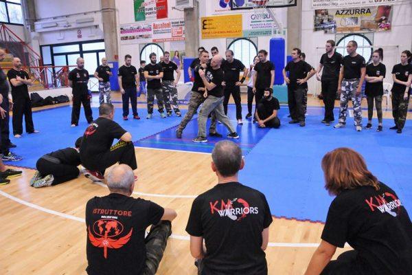 Stage Krav Maga Molinella 2017 dimostrazione tecniche di combattimento maestro allievo