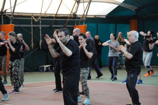 Stage Krav Maga Padova 2018 esercizi di postura